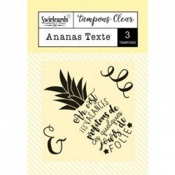 Tampon clear Ananas