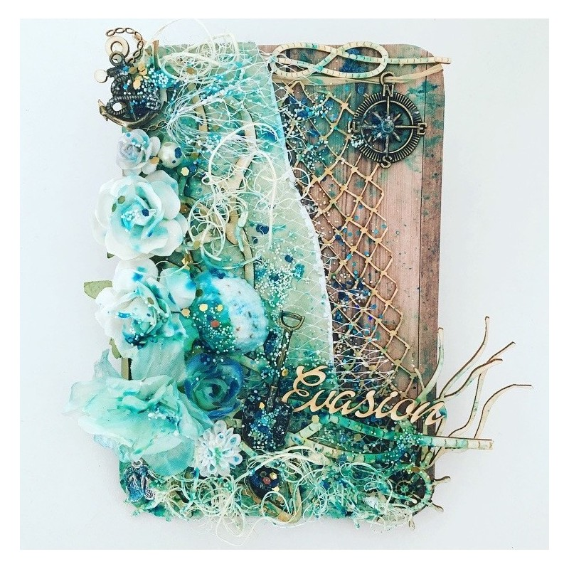 Kit Atelier Juin Mer Mixed media