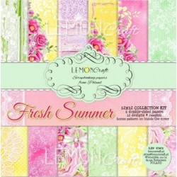 Set papier 30x30 Fresh Summer