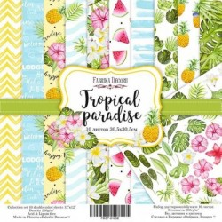 Set papier Tropical 30x30