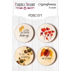 Lot badges automne
