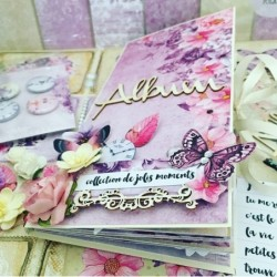 Kit Mini Album Violet