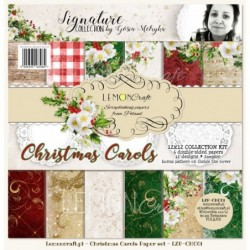 Set papiers 30x30 Chants de Noël