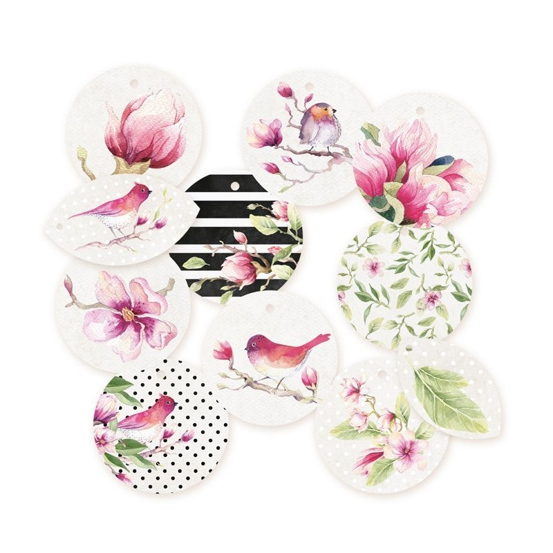 Die cuts rond Hello Beautiful