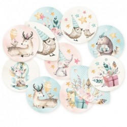 Lot die cuts rond Cute & Co