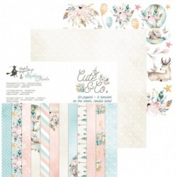 Bloc Papier 15x15 Cute & Co