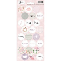 Stickers rond Love in Bloom