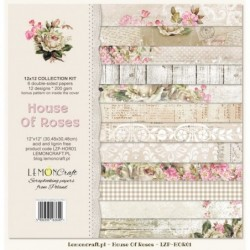 Set papier House of Roses 30x30 cm
