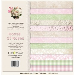 Set papier Basic House of Roses 30x30