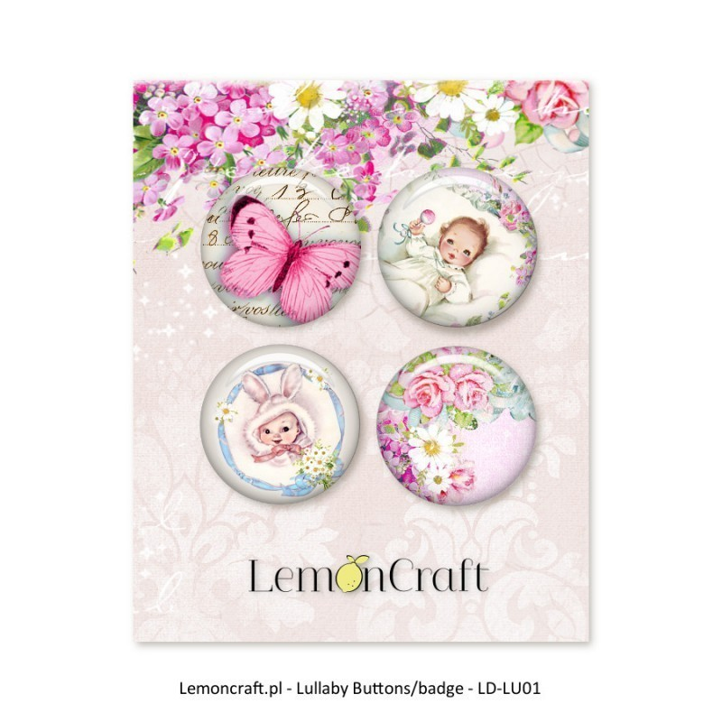 Badges Fille Lullaby