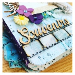 Tutoriel Mini Album Souvenirs