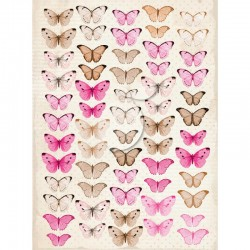 Feuille papillons Sweet...