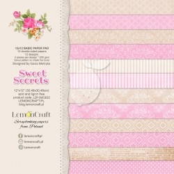 Set papiers Basic Sweet...