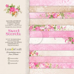 Set papiers Sweet Secrets...