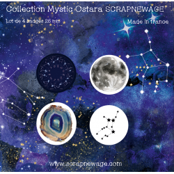 Lot Badges Mystic Ostara