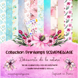 Collection papiers 30x30...
