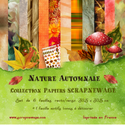 Collection Papiers Nature...