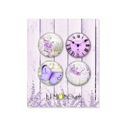Lot 4 Badges My sweet Provence