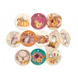 Die cuts ronds Autumn