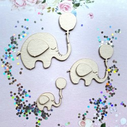 Lot Elephants + ballons
