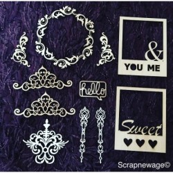 Kit chipboard Scrapnewage 1