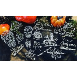 Kit Halloween Chipboards 1