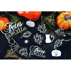 Kit Halloween chipboards 2