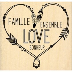 Tampon FD Famille Love